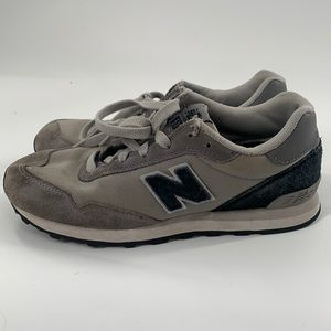 New balance trainer gray/blue sneakers size 4
